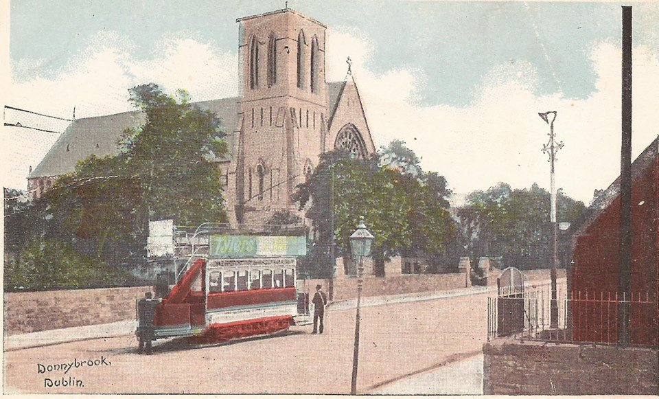 Donnybrook Church postcard