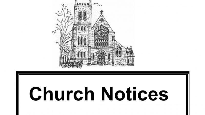 Sunday Mass Notices