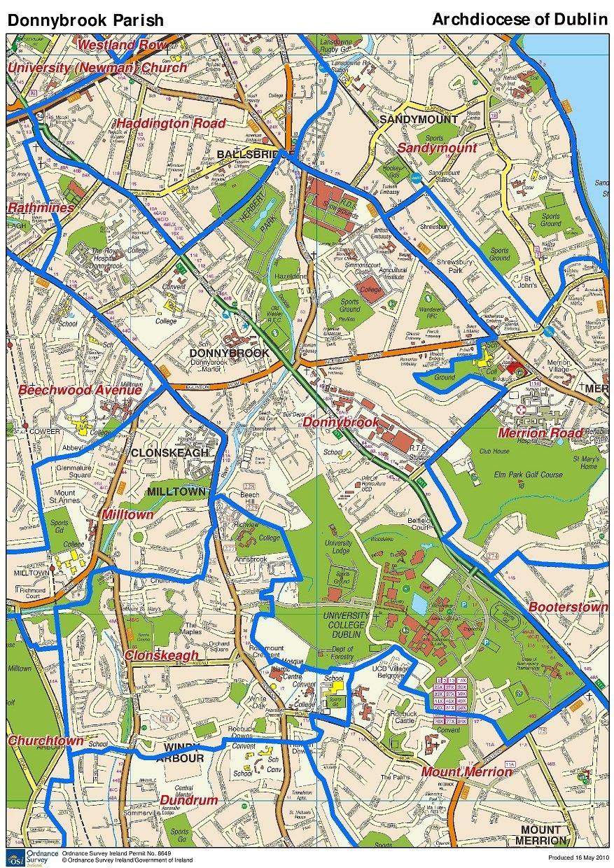 Parish Boundaries Map