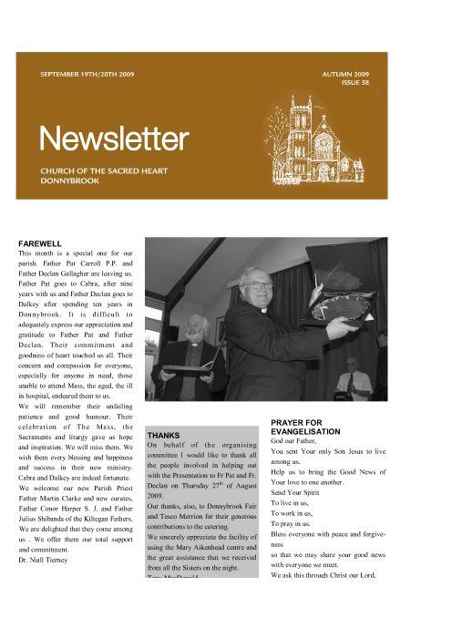 Newsletter 58