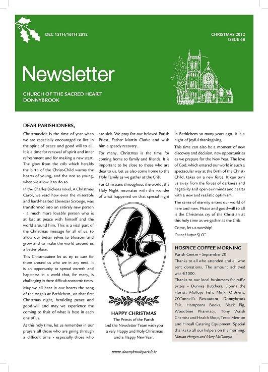 Newsletter 68
