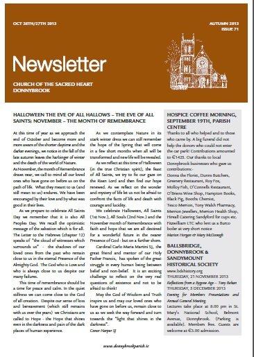 Newsletter 71