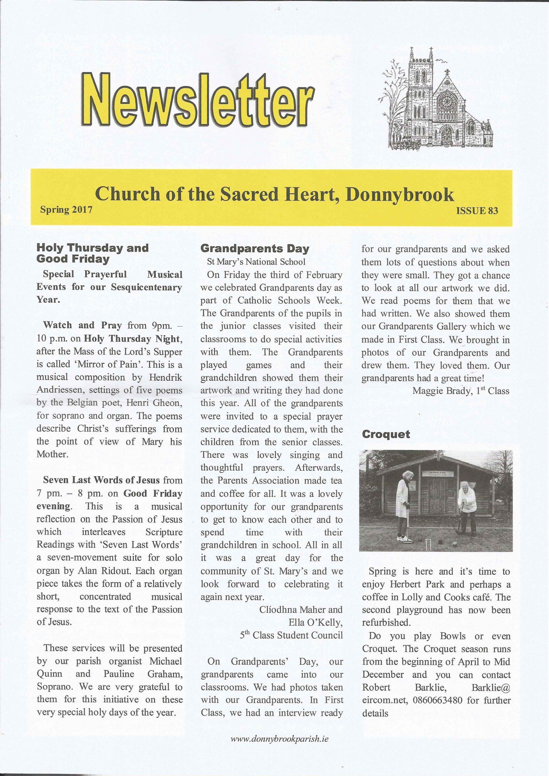 Newsletter 83