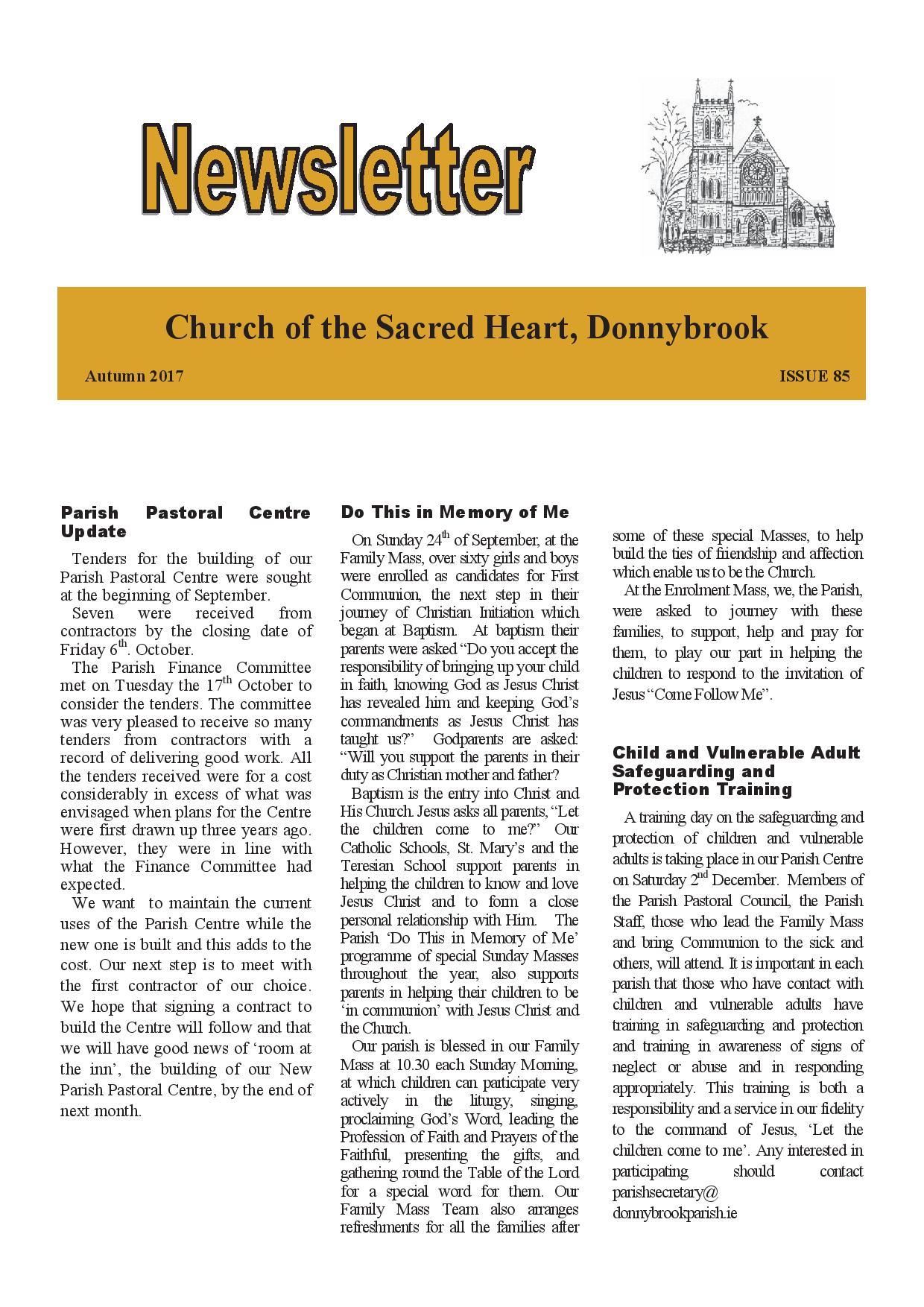 Newsletter 85